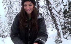 delightful-young-babe-reveals-her-oral-abilities-in-the-snow
