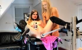 three-kinky-lesbian-teens-share-a-mechanical-toy-on-webcam