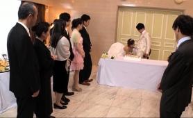 Lustful Japanese Friends Enjoy Wild Group Sex At A Wedding