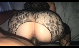 sensuous-milf-in-lingerie-stuffs-her-pussy-with-black-meat