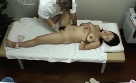 Lovely Oriental Babes Getting Pleased On The Massage Table