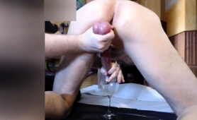 kinky-guy-with-a-hot-ass-has-his-lover-milking-his-big-dick